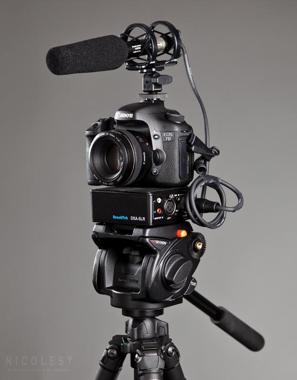 7D Video Setup