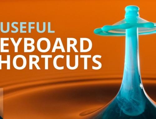 Five Useful Lightroom Keyboard Shortcuts